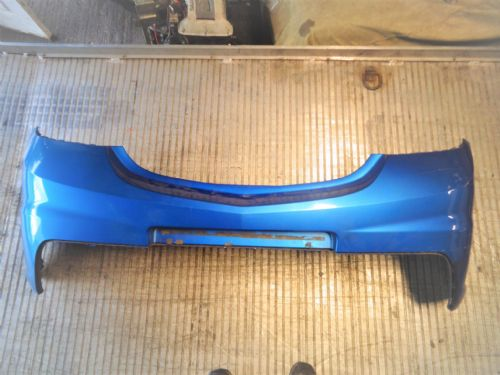 ASTRA MK5 VXR REAR BUMPER IN ARDEN BLUE, CRACK DAMAGE